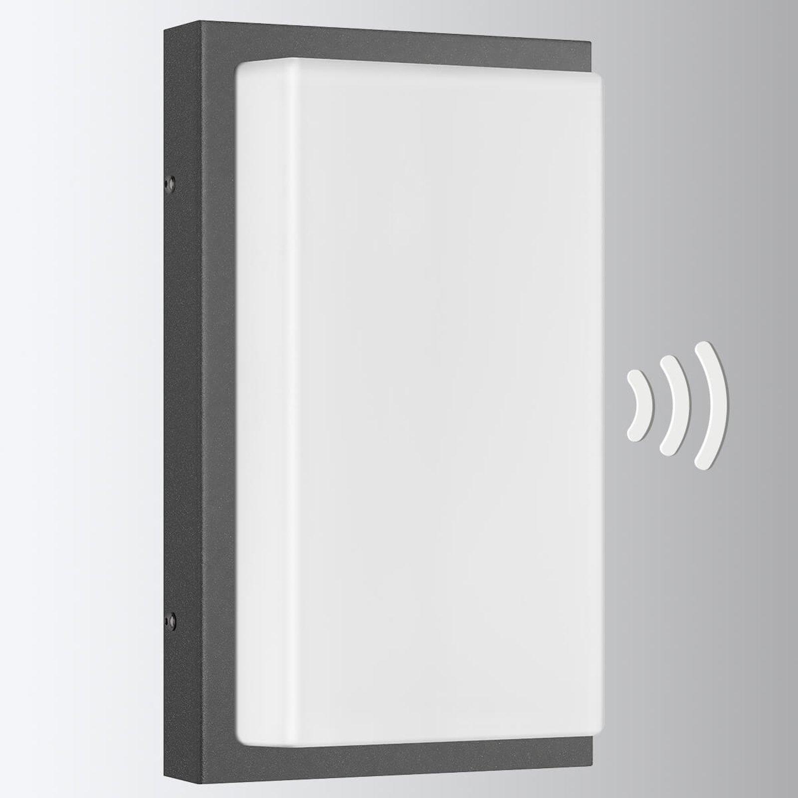 Babett - sensor-utendørs vegglampe med LED-lys