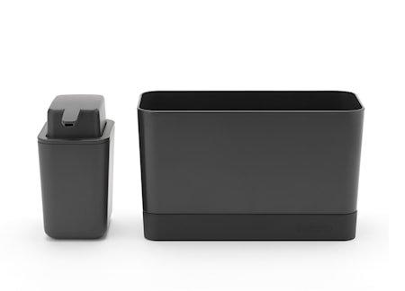 Organiseringssett til oppvaskbenken Mørkegrå