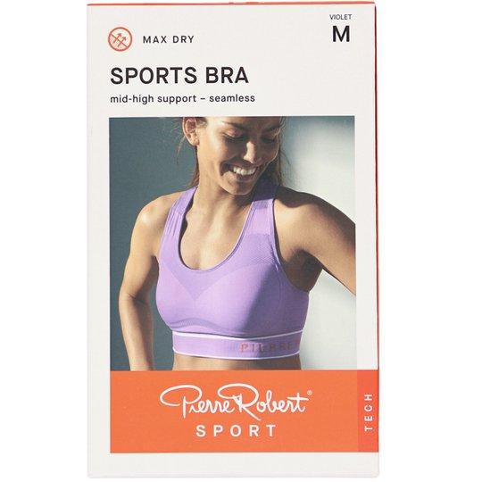 Sport-BH Medium Support Violet Stlk M - 72% rabatt