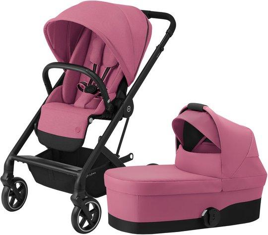 Cybex Balios S Lux Duovogn, Magnolia Pink/Black