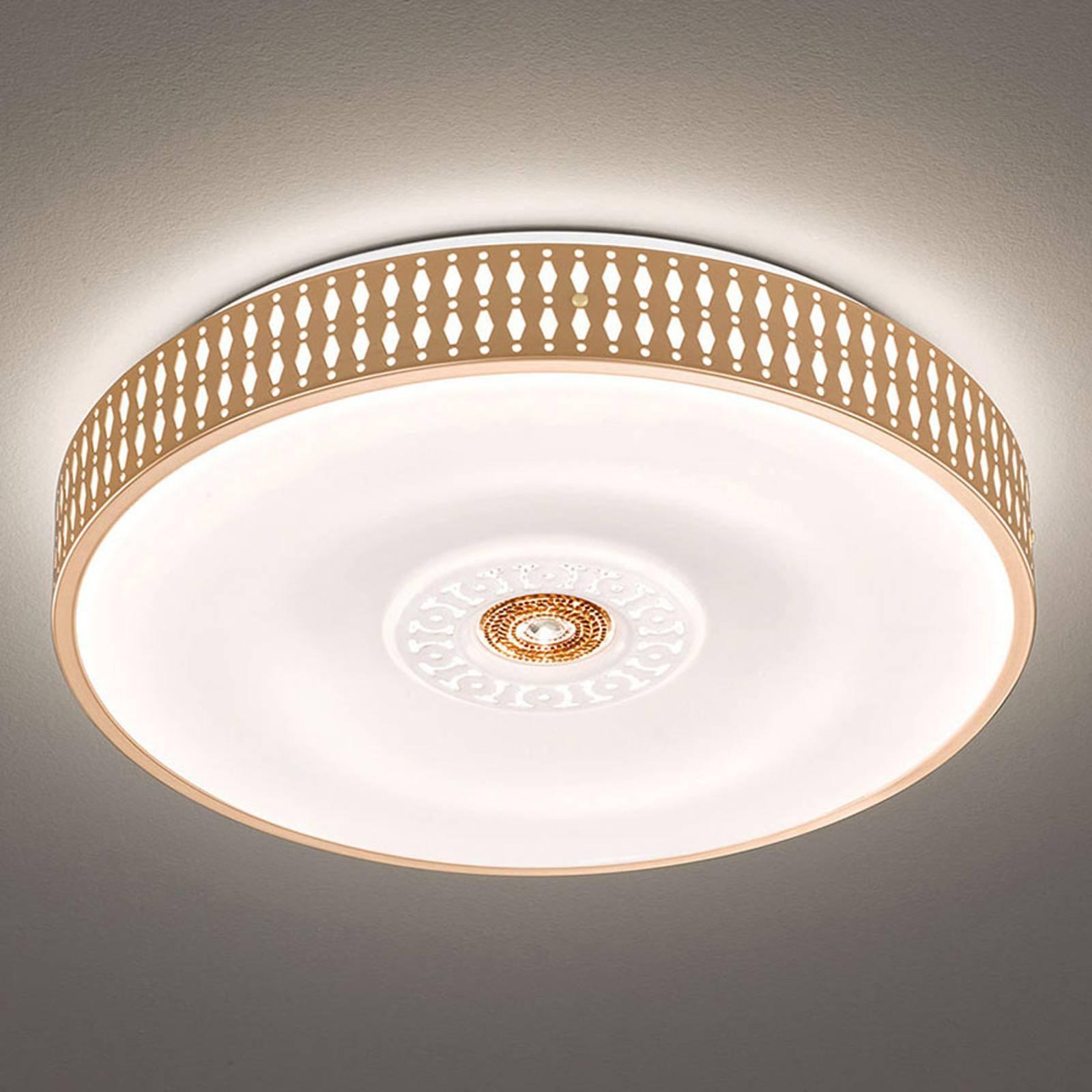 LED-taklampe Coso, dimbar, Ø 50 cm