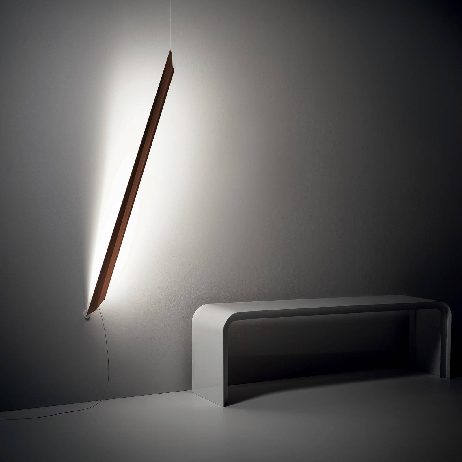 Knikerboker Schegge LED-vegglampe, murstein