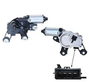 Pyyhkijän moottori, Takana, AUDI A4 Allroad, A4 Avant, 4F9 955 711C, 4F9 955 711E, 4F9955711E