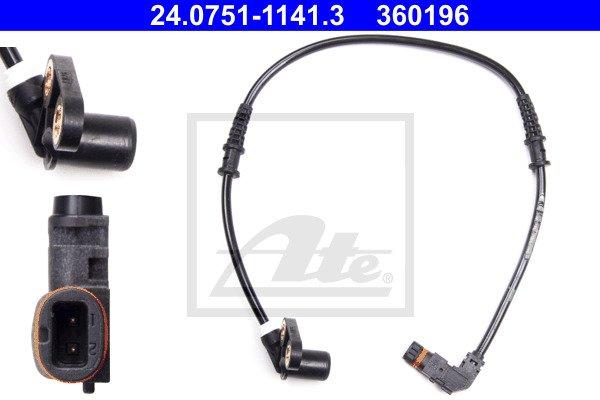ABS-anturi ATE 24.0751-1141.3