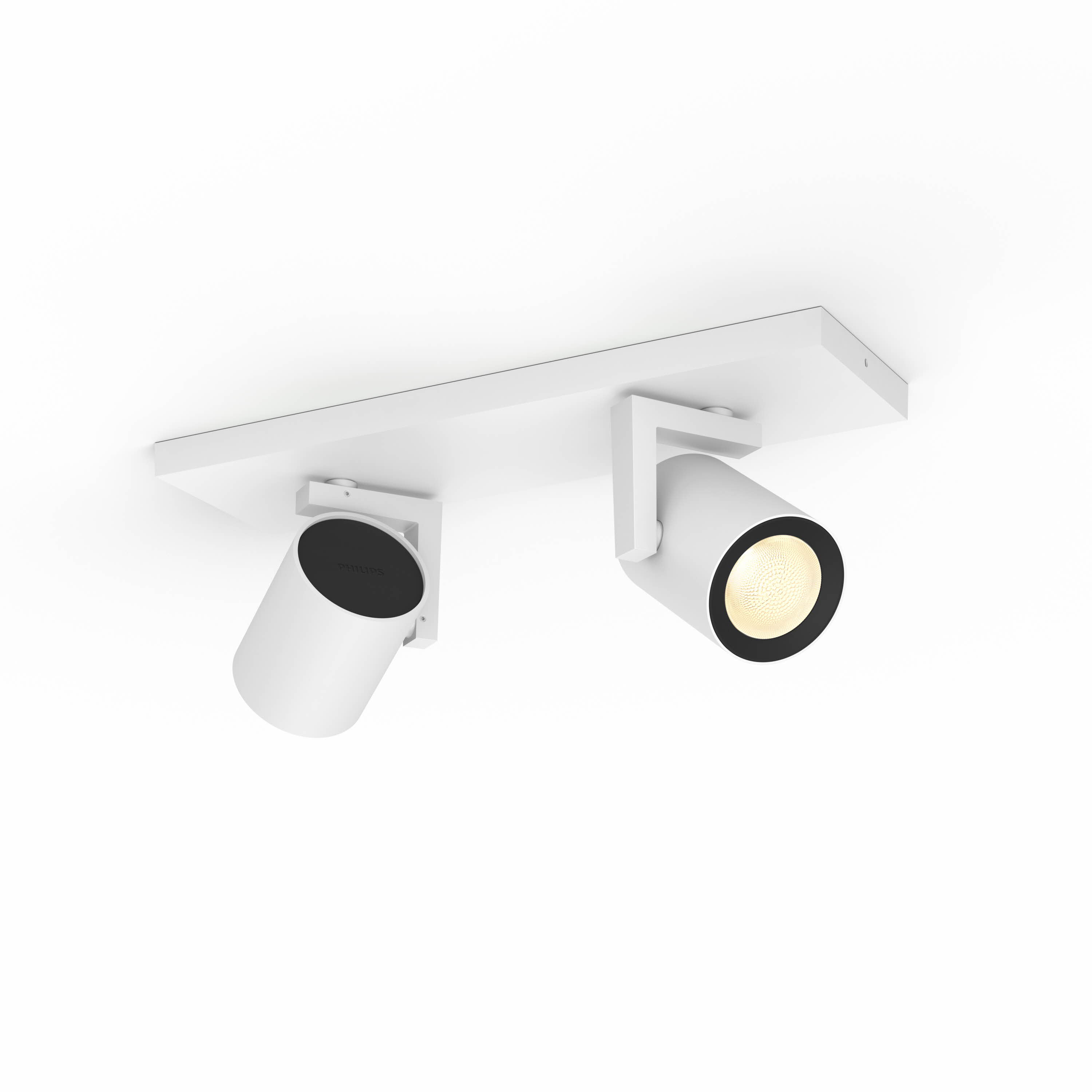 Philips Hue - Argenta plate/spiral - White and Color Ambiance (White)