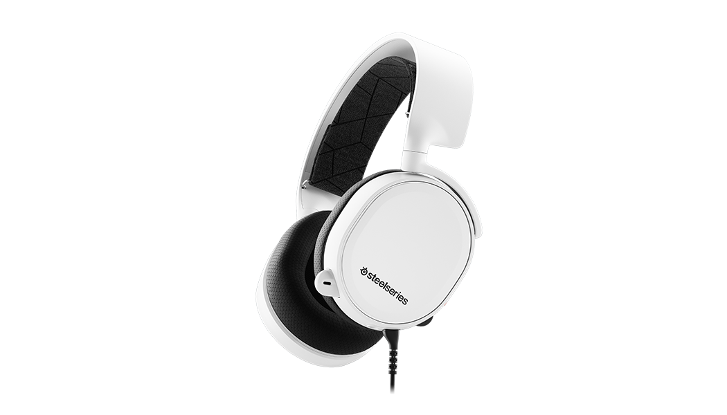 Steelseries - Arctis 3 Gaming Headset - White
