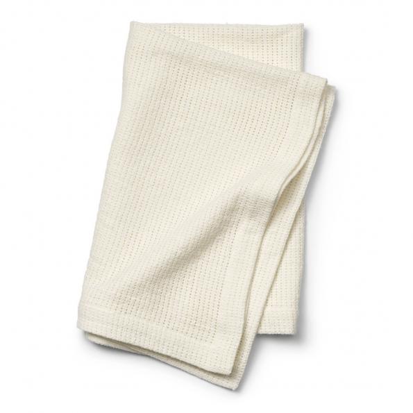 Elodie Details - Cellular Blanket - Vanilla White