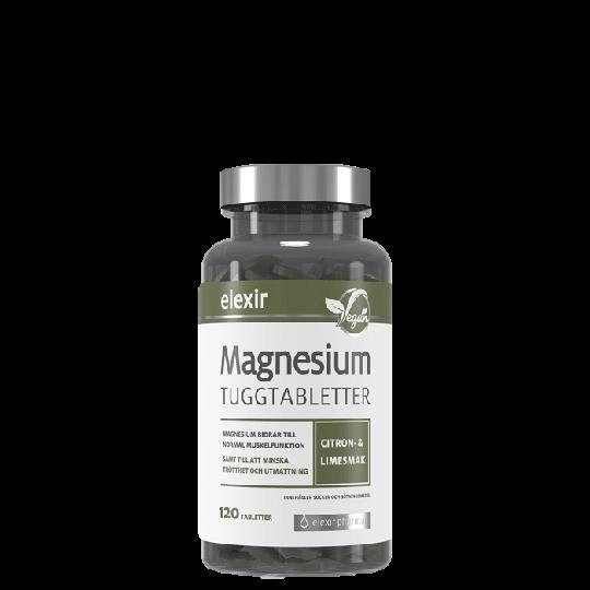 Magnesium Tuggtabletter, 120 tabletter