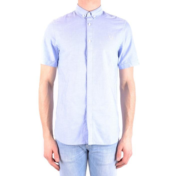 Fred Perry Men's Shirt Light Blue 161368 - light blue S