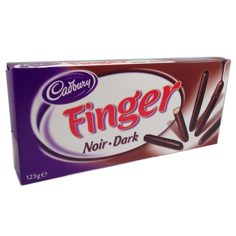 Chokladfingrar mörk choklad - 50% rabatt