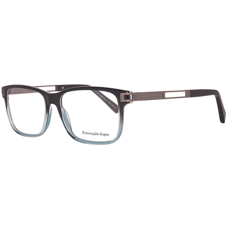 Ermenegildo Zegna Men's Optical Frames Eyewear Blue EZ5076 55020