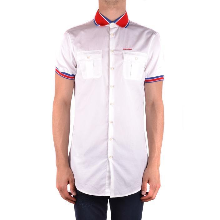 Dsquared Men's Shirt White 163400 - white 50