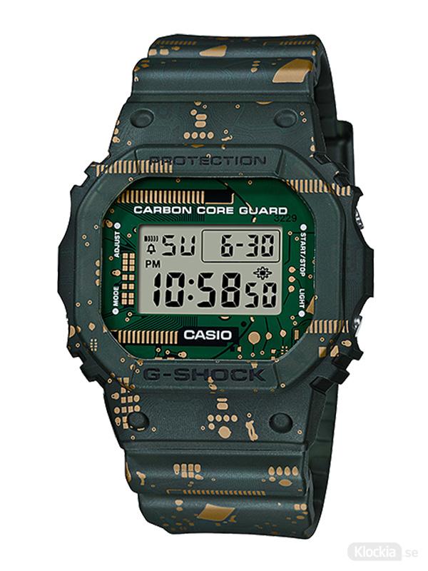 CASIO G-Shock Circuit Board Camouflage Limited Edition DWE-5600CC-3ER