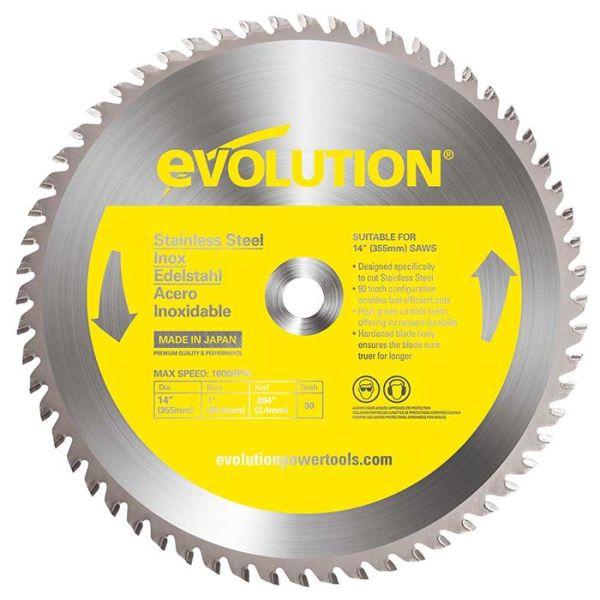 Evolution EV355R Sagklinge 355x2,4x25 mm, 90T