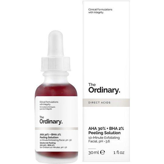The Ordinary AHA 30% + BHA 2% Peeling Solution, 30 ml The Ordinary Kuorinta