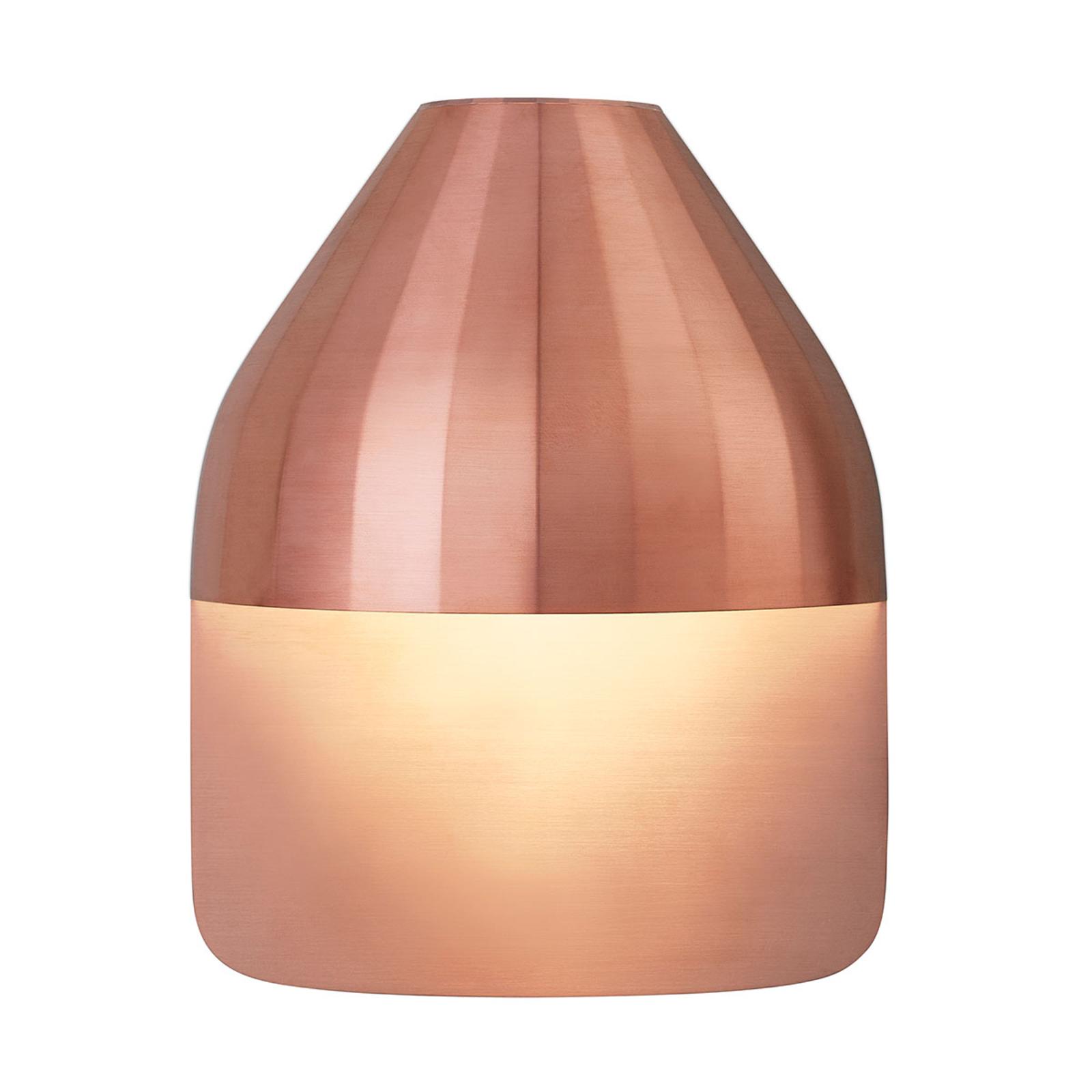 LE KLINT Facet Medium -LED-seinävalaisin, kupari