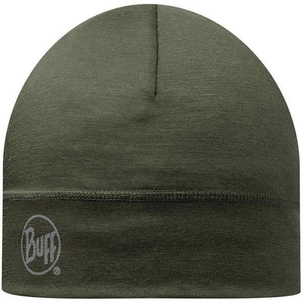 Buff Merino Wool Lue grønn