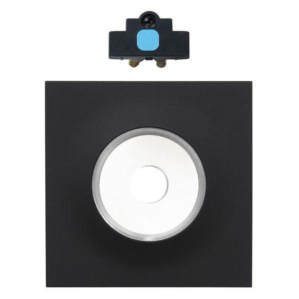 Elko EKO09544 Dimmersett lysenhet, lysring og midtplate Svart, blå lampe
