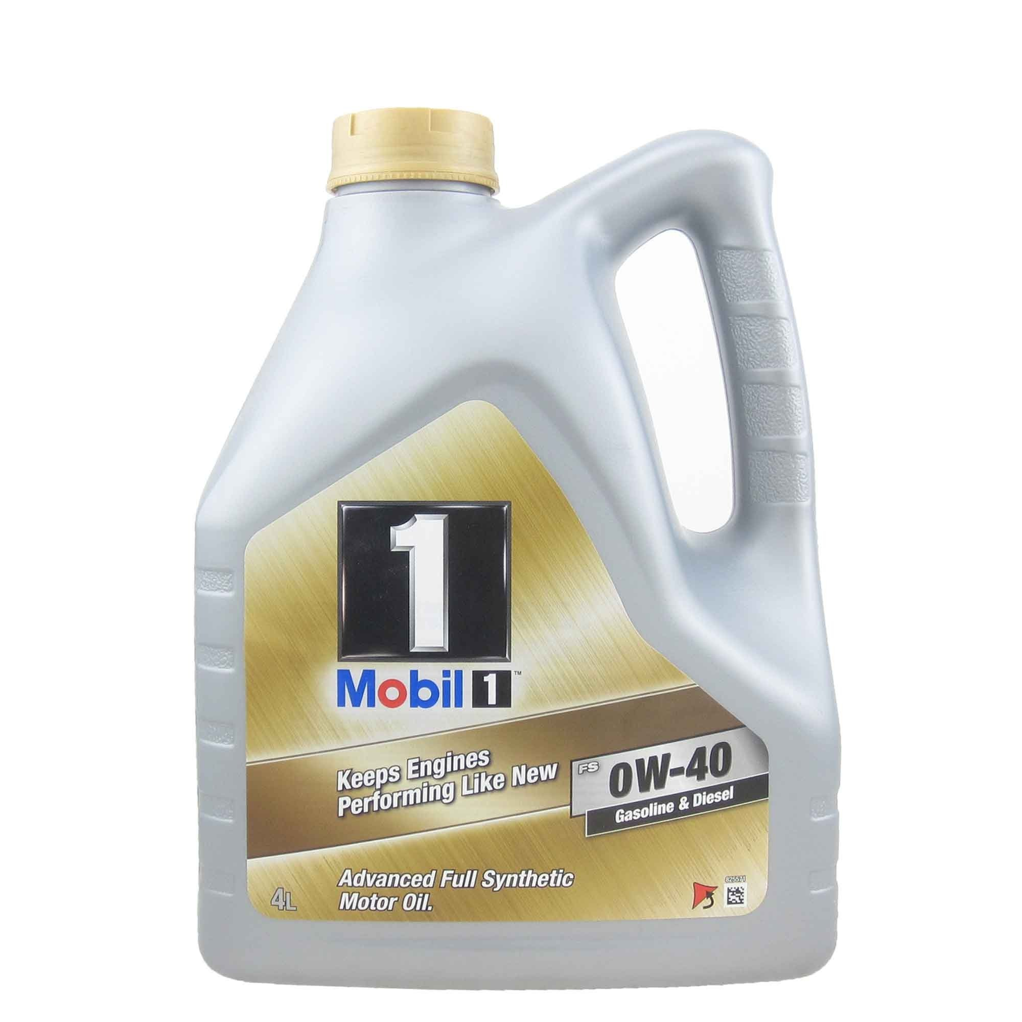 Moottoriöljy MOBIL 0W40 MOBIL 1 FS 4L