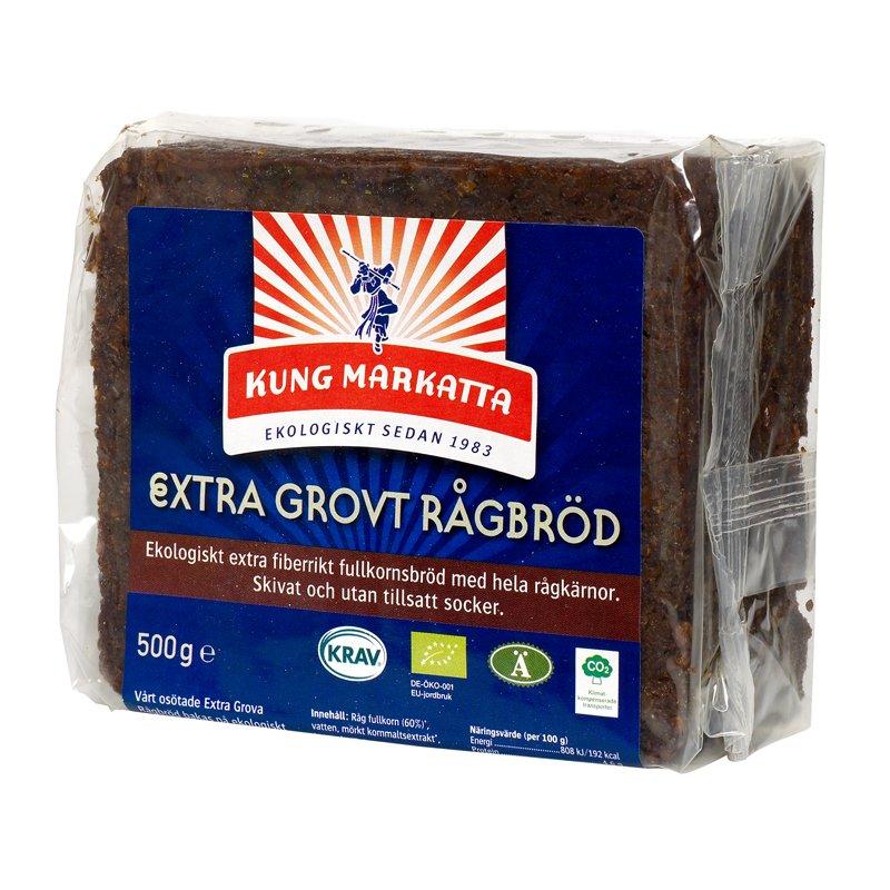 Eko Rågbröd Extra Grovt - 40% rabatt