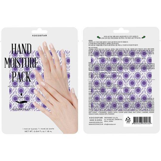 KOCOSTAR Hand Moisture Pack Purple, Kocostar Käsienhoito