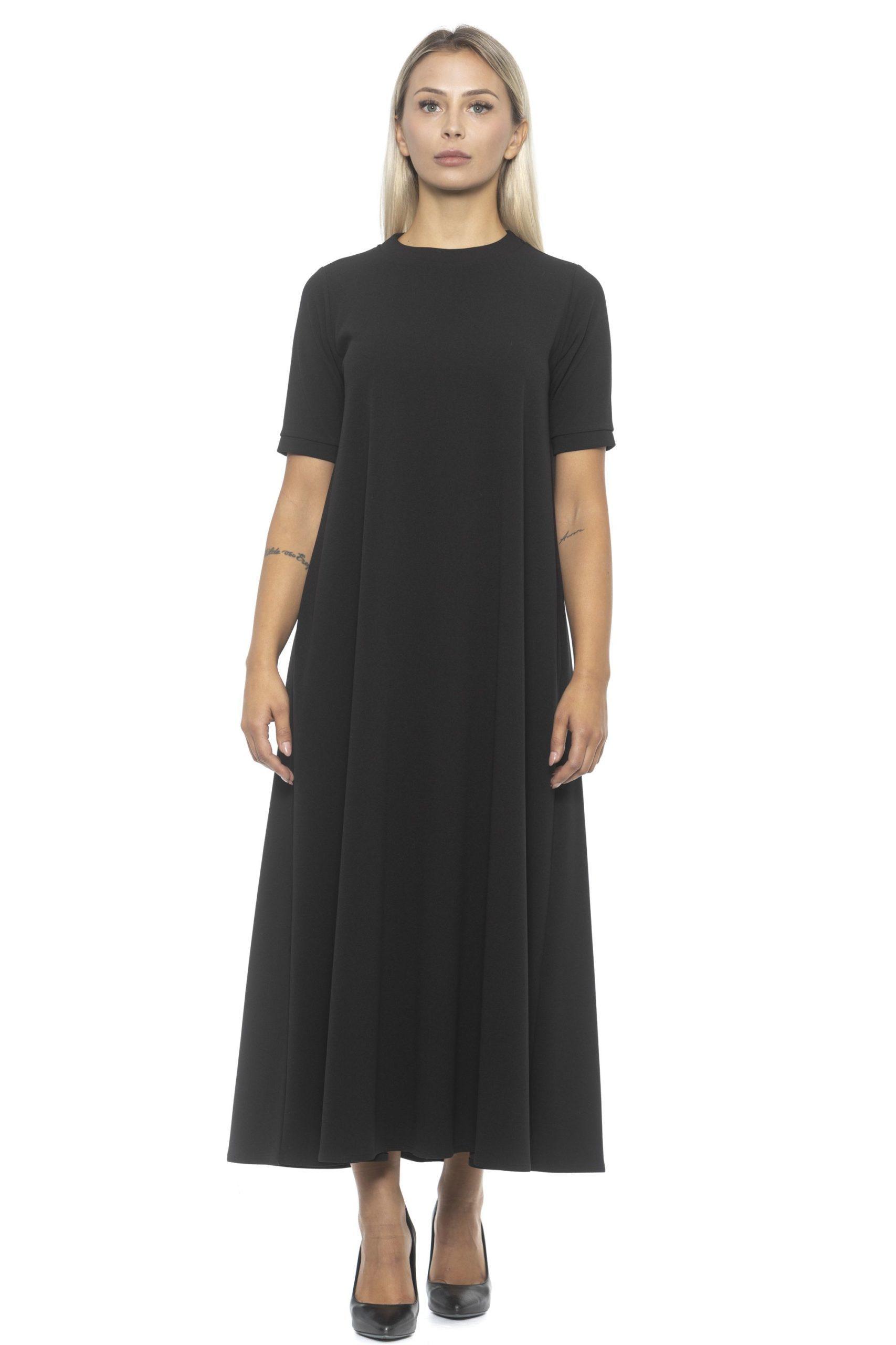 Alpha Studio Women's Nero Dress Black AL1192143 - IT46   L