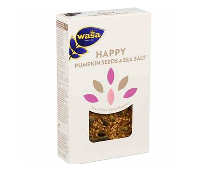 "Näkkileipä ""Pumpkin Seeds & Sea Salt"" 150g - 47% alennus"