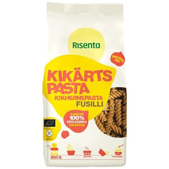 "Kikhernepasta ""Fusilli"" gluteeniton 300 g - 57% alennus"