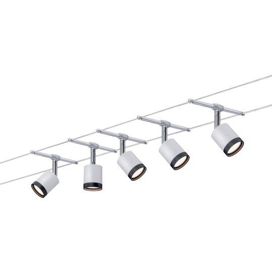 Paulmann TubeLED -vaijerijärjestelmä 5-lamppuinen