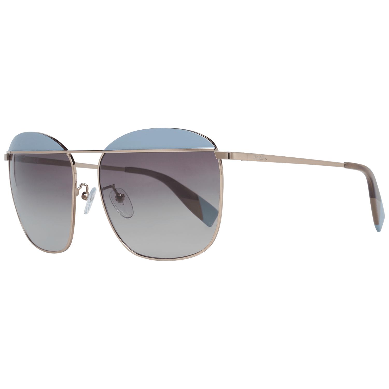 Furla Women's Sunglasses Rose Gold SFU237 5908M6