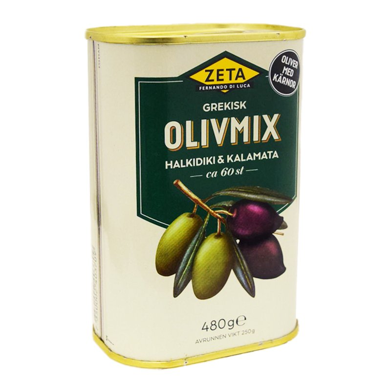 Olivmix Kalamata & Halkidiki - 24% rabatt