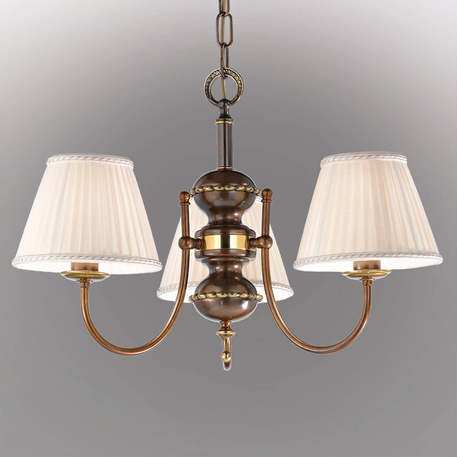 Antiikkinen Classic-riippuvalaisin, 3-lamppuinen