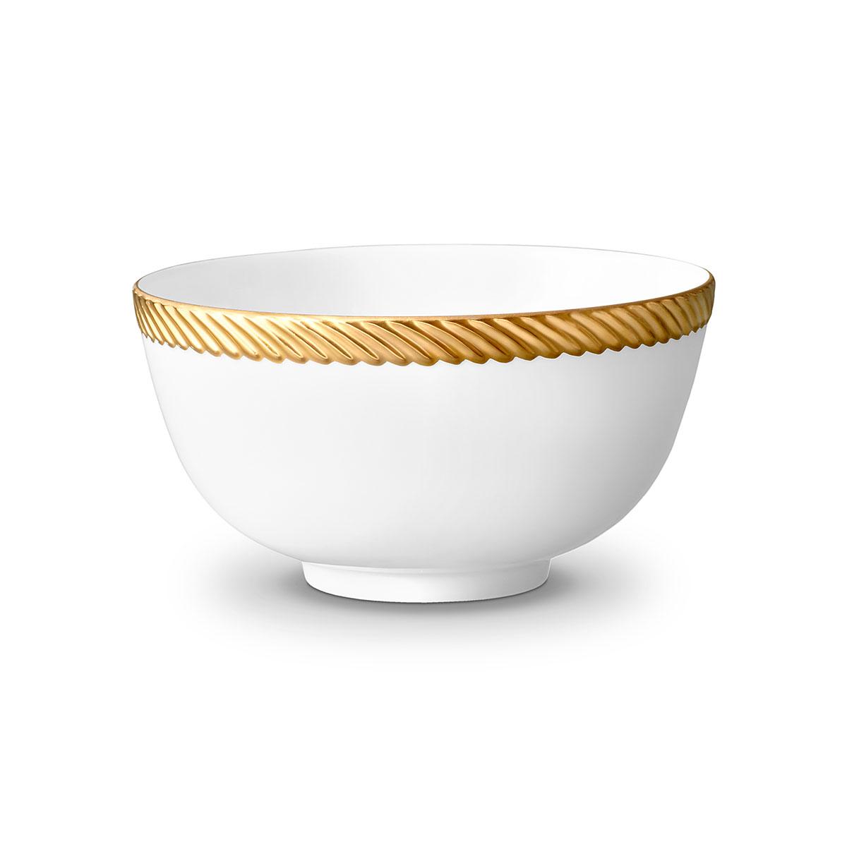 L'Objet I Corde Cereal Bowl Gold