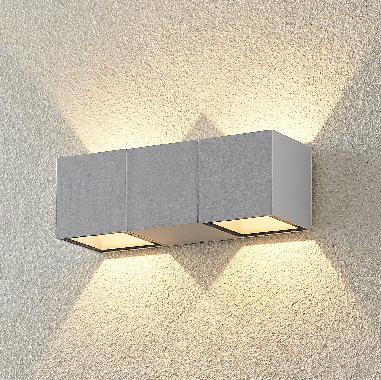 ELC Vanda -LED-ulkoseinälamppu, valkoinen