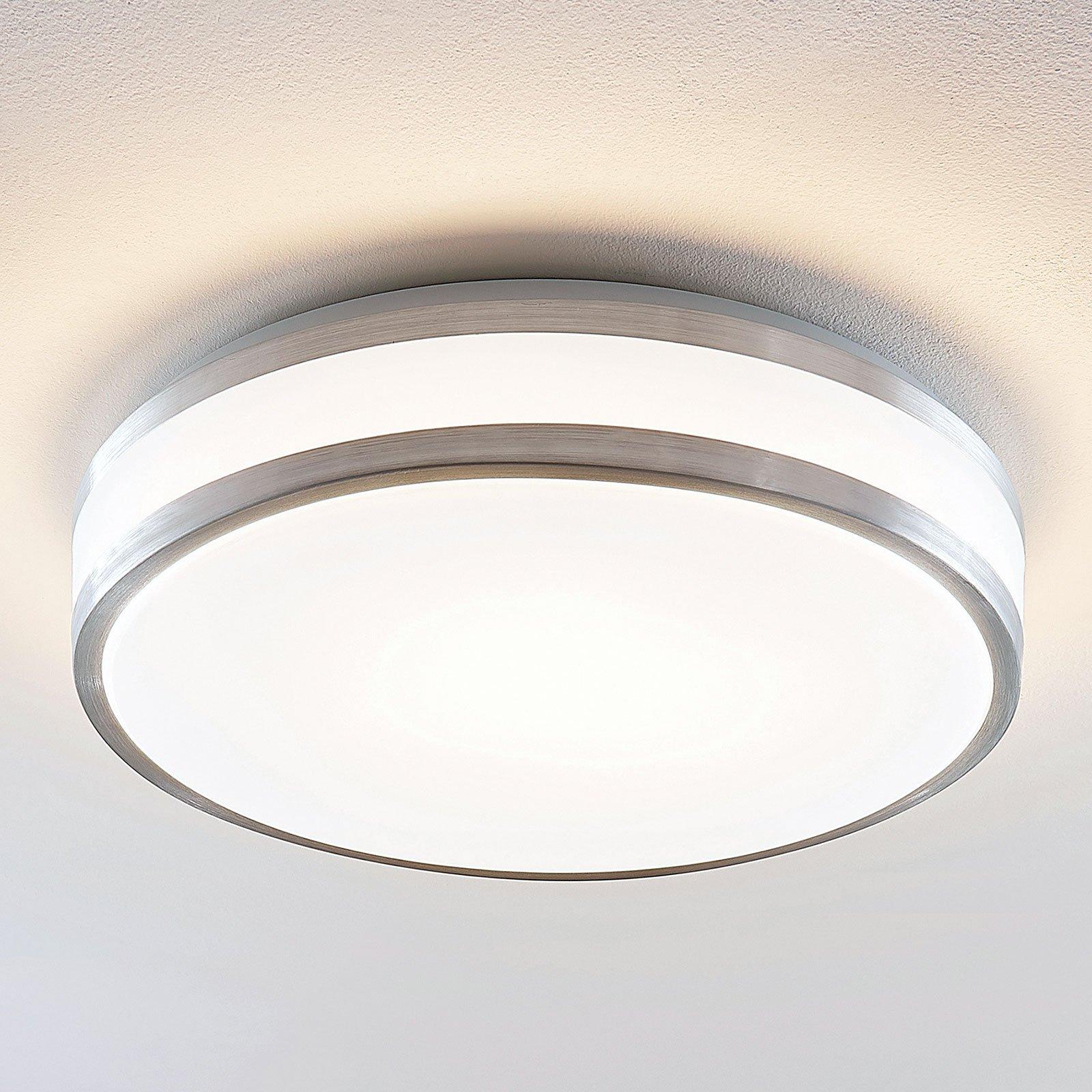Lindby Nelia LED-taklampe, rund, 41 cm