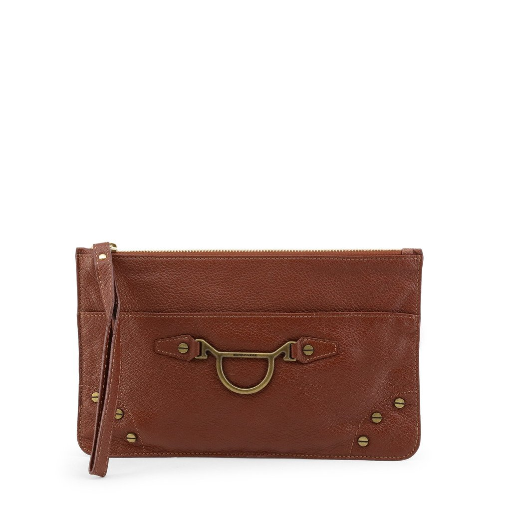 Borbonese Women's Clutch Bag Various Colours 962001-526 - brown NOSIZE