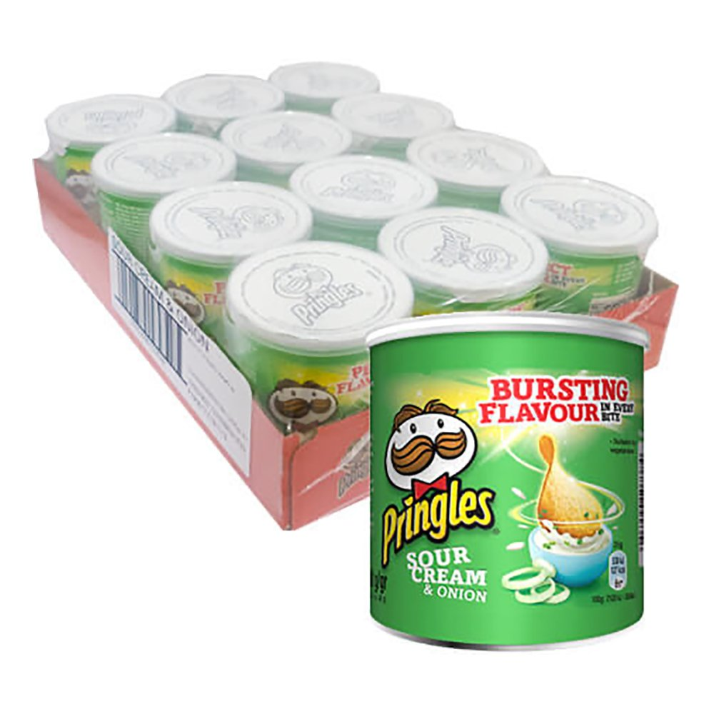 Pringles Sourcream & Onion Mini - 1-pack
