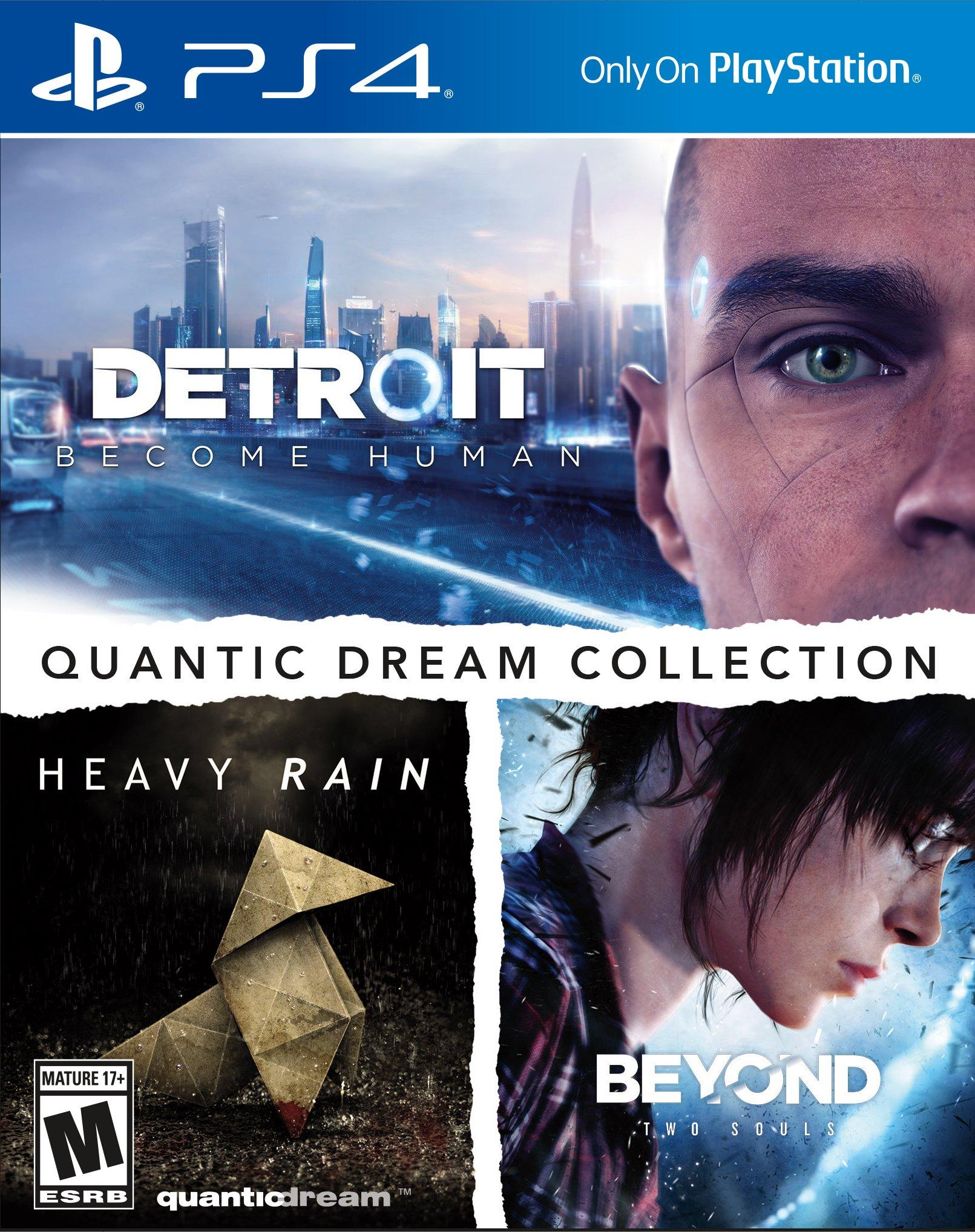 Quantic Dream Collection Detroit: Become Human, Heavy Rain & Beyond: Two Souls - One Life (Import)