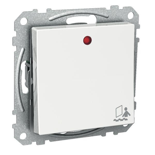 Schneider Electric Exxact Vaihtokytkin 1-napainen, varattu-symboli