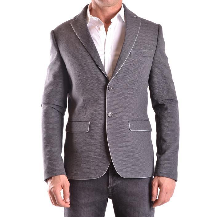 Daniele Alessandrini Men's Blazer Grey 162693 - grey 48