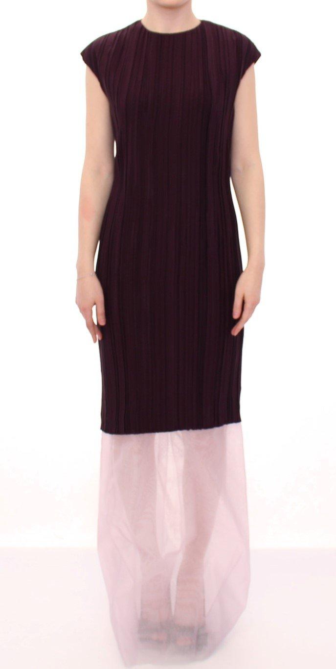 Barbara Casasola Women's Lavender Gown Silk Long Dress Purple MOM10070 - IT44|L