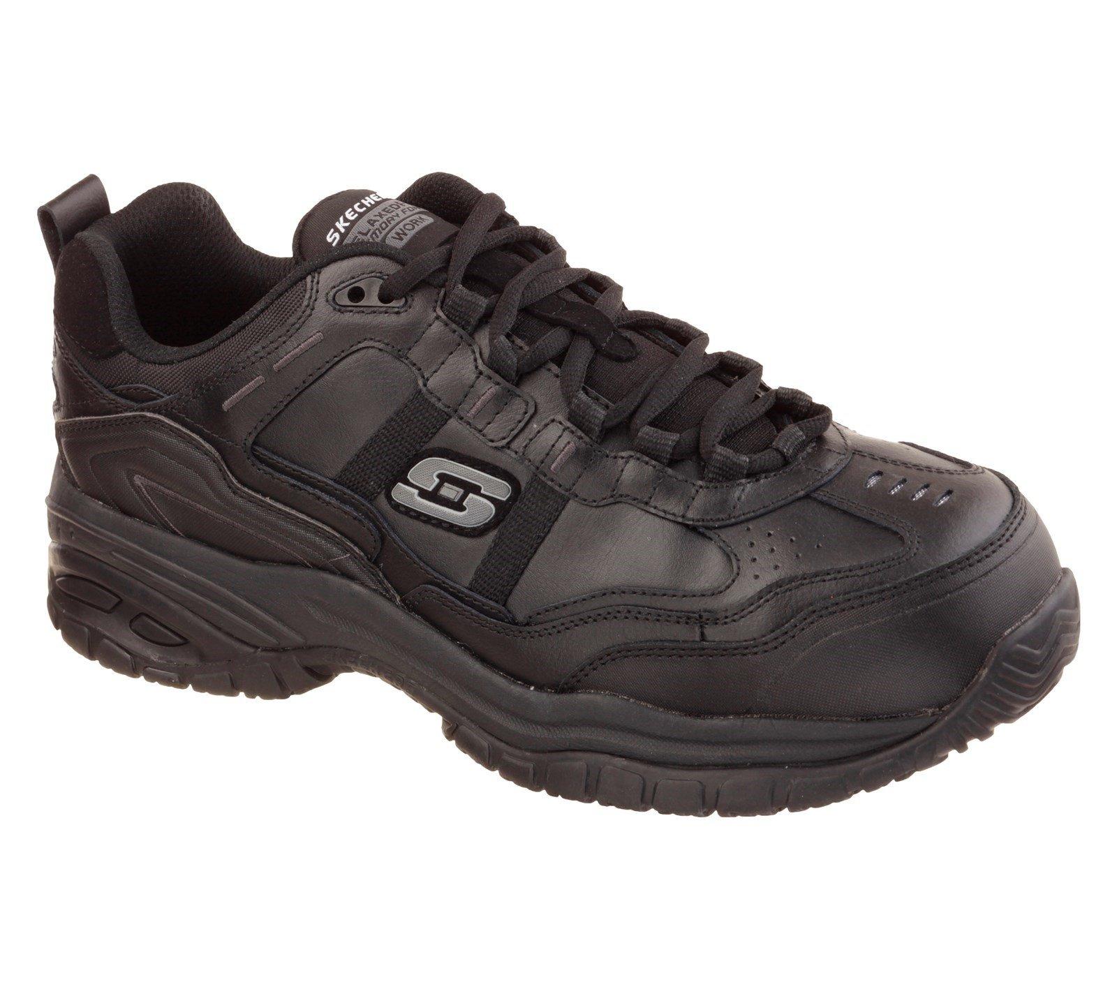 Skechers Unisex Soft Stride Grinnell Comp Safety Trainer Black 32952 - Black 8