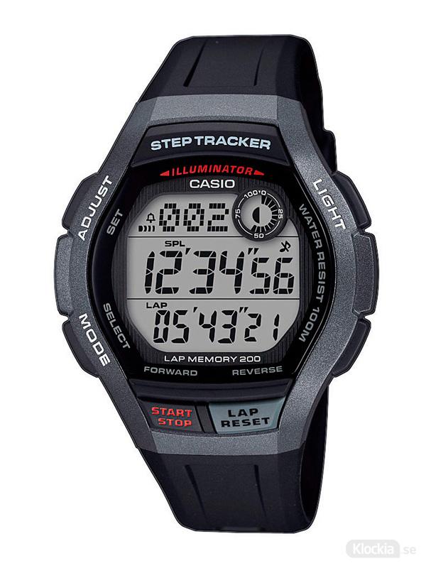 Herrklocka CASIO Collection Step Tracker WS-2000H-1AVEF