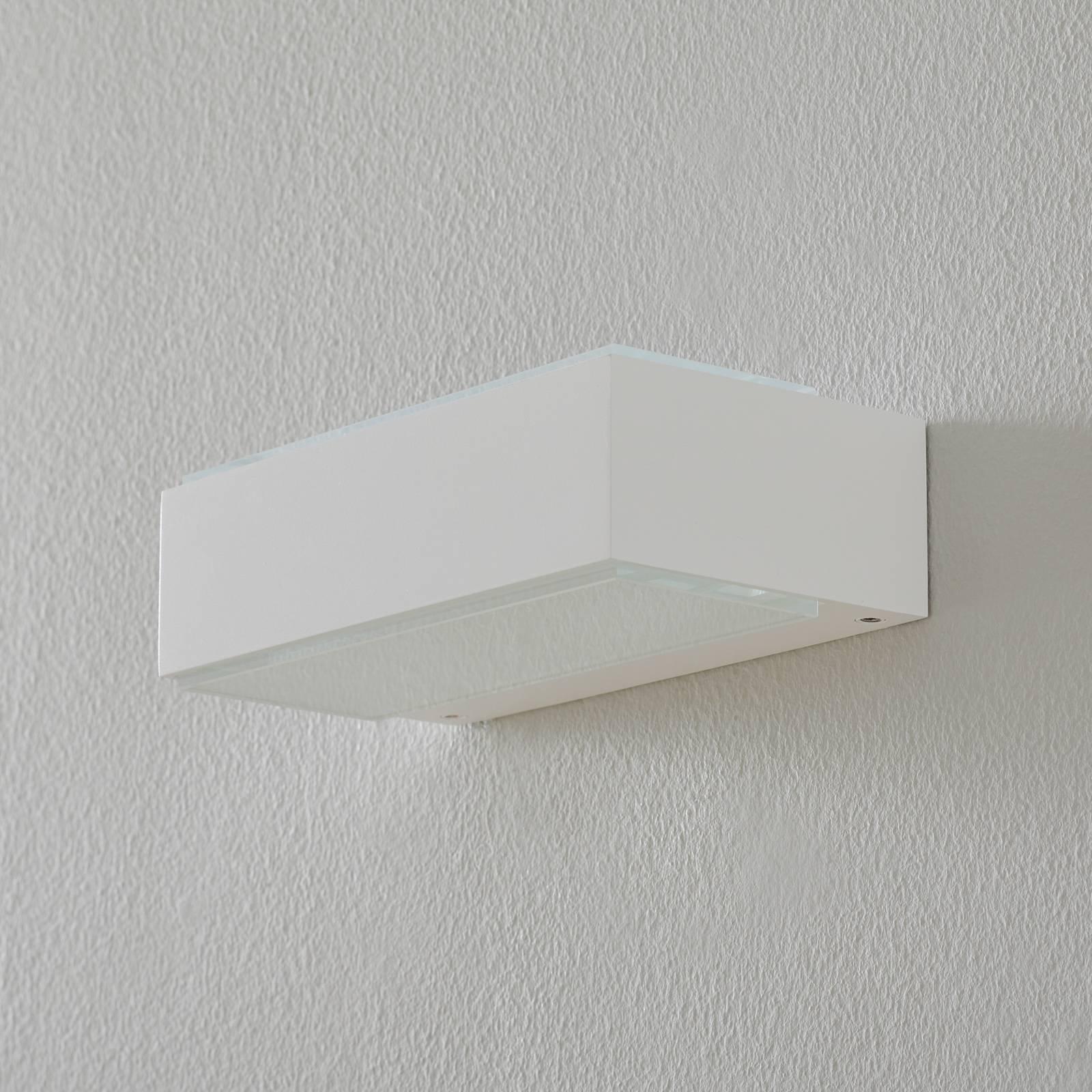 BEGA 12277 LED-vegglampe 3 000 K 20 cm hvit