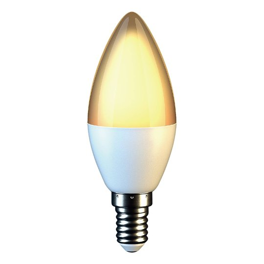 LED-kynttilälamppu E14 C37 5W 3 000 K opaali