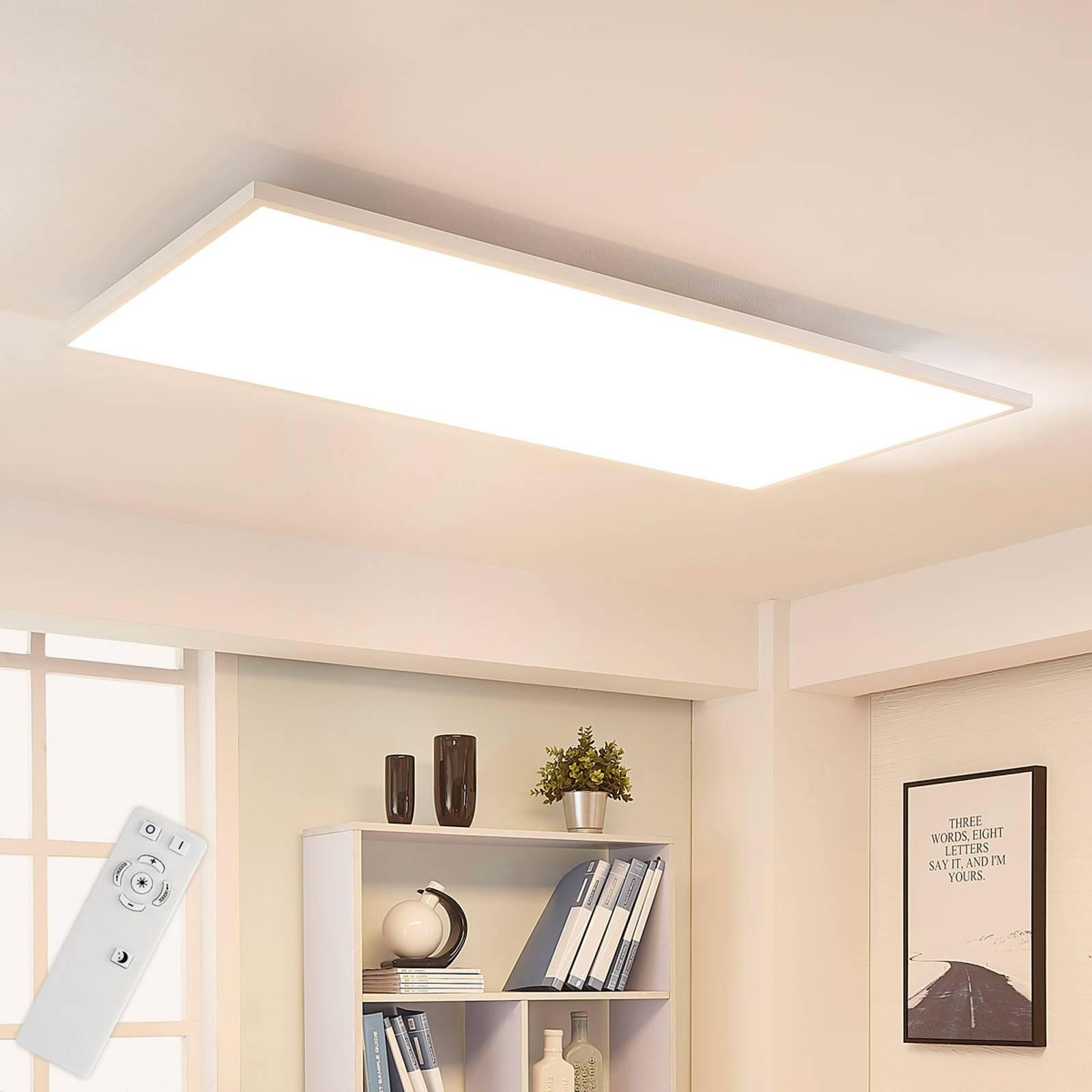 Arcchio Arya -LED-paneeli, himmennys, 119cm x 59cm