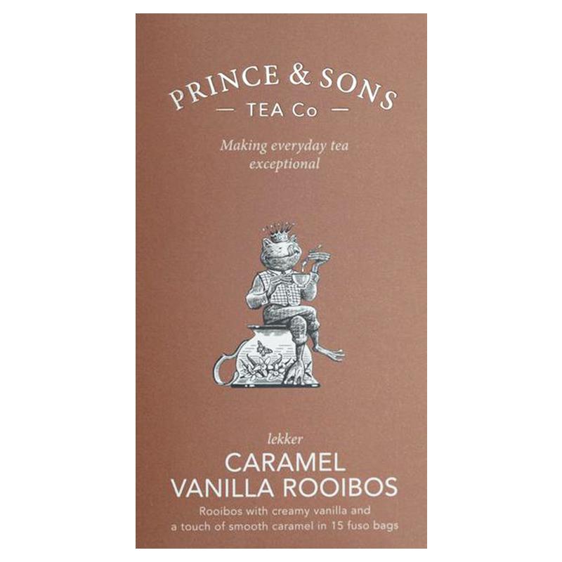 """Te """"Caramel Vanillla Rooibos"""" 37,5g - 63% rabatt"""