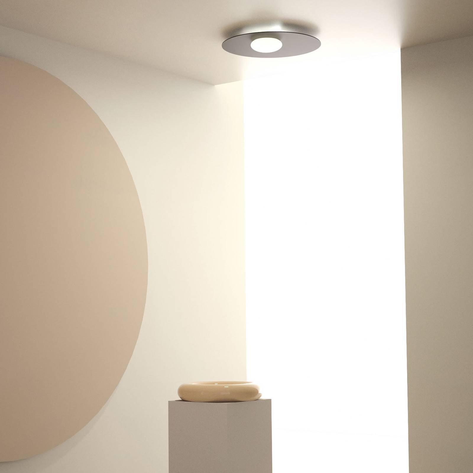 Axolight Kwic LED-taklampe, svart Ø 48 cm