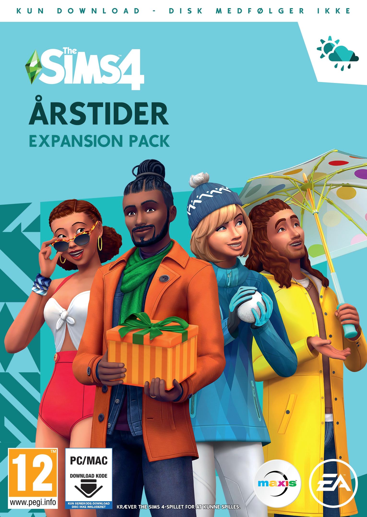The Sims 4 Seasons (DK) Code in a Box