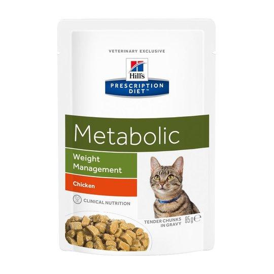Hill's Prescription Diet Feline Metabolic Weight Management Chicken 12x85 g